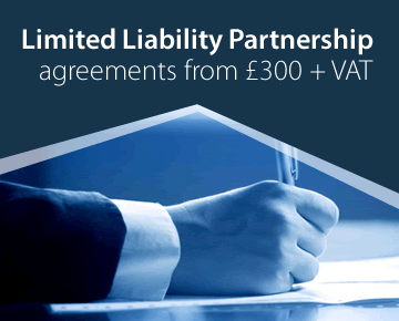 LLP Agreements from £300 + VAT